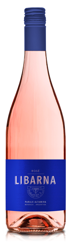 Botella Libarna Rose